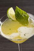 Koktajl z limonki — Zdjęcie stockowe