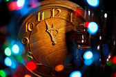 Five minutes to New Year — Stockfoto