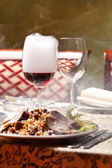 Wino z dymu — Zdjęcie stockowe
