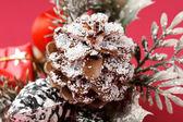 Christmas cone — Stock Photo