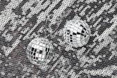 Серебряные шары — Стоковое фото