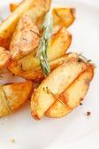 Roasted potatoes — Stock Photo