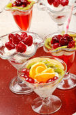 Tasty desserts — Stock Photo