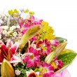 Bouquet of colorful flowers — Stock Photo
