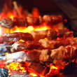 Grilling lamb — Stock Photo #6981298