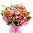 Bouquet of colorful flowers - Stok fotoraf