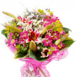 Bouquet of colorful flowers - Stock Photo