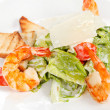 Shrimps with vegetables — Stock Photo