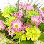 boeket van kleurrijke bloemen — Stockfoto #6982497