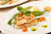 Fish food — Stock Photo