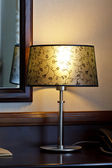 Old fashion table lamp — Stock Photo