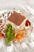 Italian dessert — Stock Photo