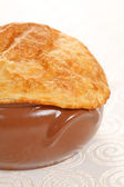 Kip pot pie — Stockfoto