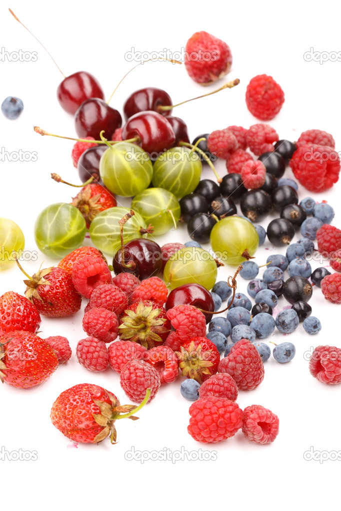 Different kinds of berries   Stock Photo #6982839