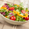 Healthy vegetables salad — Stock Photo