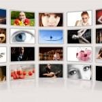 álbum de fotos digital — Foto Stock