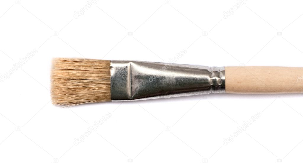 Artists Paint Brush — Stock Photo #6828068