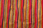Stripe fabric texture — Stock Photo