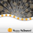 haloween background — Stock Vector