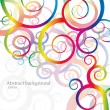 Rainbow background - Stock Vector