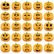 calabazas de Halloween — Vector de stock  #7026710