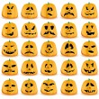 Royalty-Free Stock Vector Image: Pumpkins 2