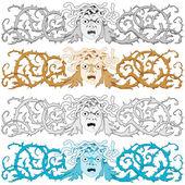Medusa Gorgon — Stock Vector
