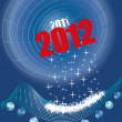 2012 new year — Stock Vector