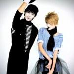 Mime actors — Stock Photo