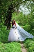 Fille de la mariée — Photo