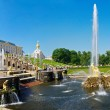 The Grand Cascade Fountain at Peterhof — 图库照片