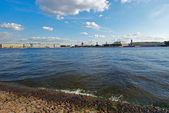 St. Petersburg. The Neva River — Stock Photo