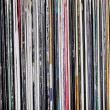 Stock Photo: Vinyl records
