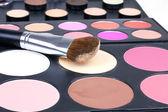 Professional make-up brush on corrector — Stock Photo