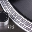Foto de Stock  : Spinning turntable