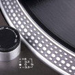 Foto Stock: Spinning turntable
