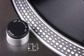Spinning turntable — Stock Photo