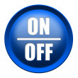 Stock Photo: ON / OFF button