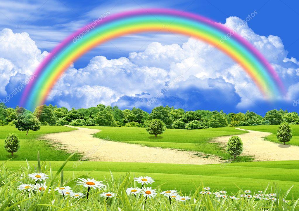 Открытки в контакте радуга
