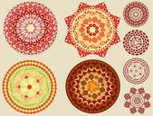 Arabesques circulaires — Vecteur