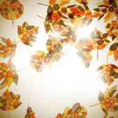 Autumn background — Stock Vector