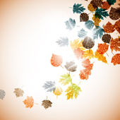 Autumn background — Stockvektor