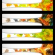 Royalty-Free Stock Vector Image: Autumn discount sale banner poster abstract flyer