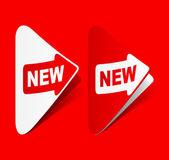 Newsletter, realistic design elements — Stock Vector