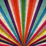 Multicolor sunbeams grunge background. — Stock Photo