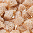 ������, ������: Many brown lump cane sugar cubes food background