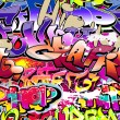 Graffiti wall vector abstract background — Stock vektor