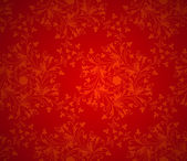 Christmas red background wrapping paper texture — Stock Vector