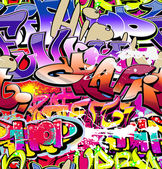 Graffiti wall vector abstract background — ストックベクタ