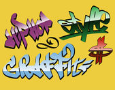 Design graffiti words — Stock Vector